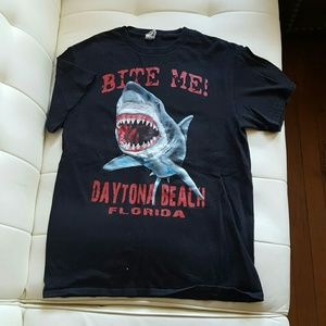 Bite Me Daytona Beach T-shirt Sz Medium M
