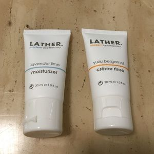 Lather moisturizer and crème rinse