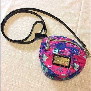 Betsey Johnson Handbags - Betsey Johnson Floral Mini CrossBody Bag