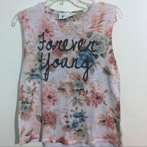 Active Ride Shop Tops - Floral tank top