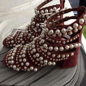 Jeffrey Campbell Shoes - Jeffrey Campbell tiboni suede sandal