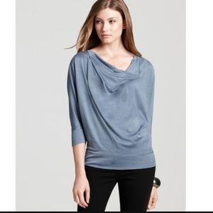 Eileen Fisher Tops - Gray Eileen Fisher drape neck box top