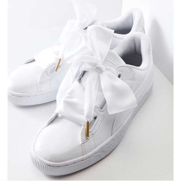 c91dc641337 Puma Basket Heart Patent Leather Sneaker