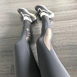Pants - 🆕 Mesh + Criss-Cross Back Accent Workout Leggings
