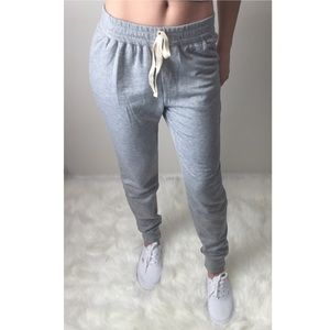 "Pants - ""Anne"" Softest Heather Gray Joggers"