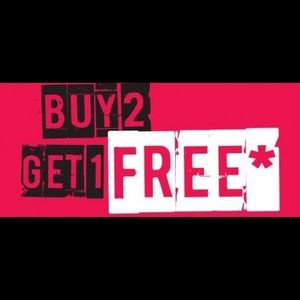 Other - Purchase any 2 items and receive the 3rd item free