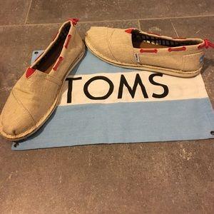 TOMS Shoes - Tan TOMS