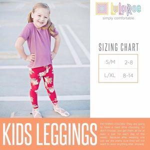 64f83fb71 LuLaRoe Bottoms | Sm Kids Leggings | Poshmark