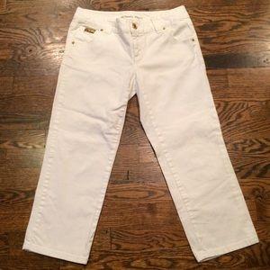Michael Kors Denim - NWOT Michael Kors White Skinny Crop Jeans
