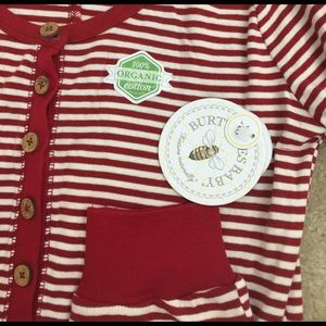 Burt's Bees Baby Other - BURT'S BEES BABY organic cotton red woman Pajama