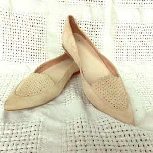 Cole Haan Shoes - Cole Hann Peach Smoking Slippers. Size 6.