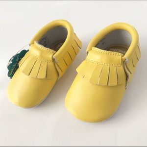 Umi Other - NWT! UmiBaby Yellow Moccasins