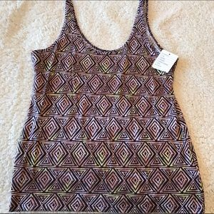 Urban Outfitters Pattern Tank top Size L