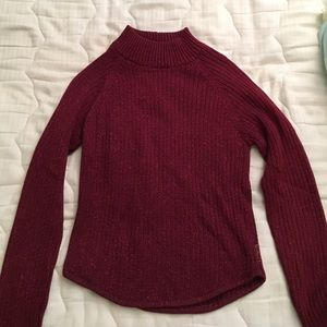 limited Too Other - Red sparkly girls sweater!