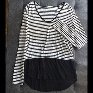 Zara Tops - Striped Zara top