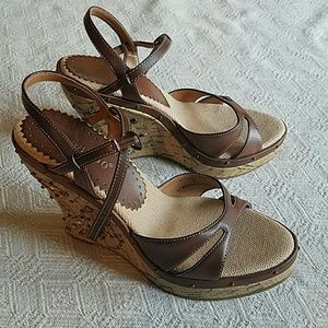Bamboo Wedge Sandals *NEW*