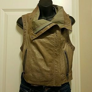 Cut25 by Yigal Azrouel Jackets & Blazers - Rare Lamb skin leather vest!