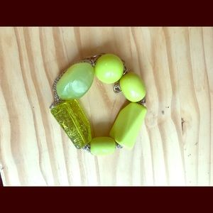 Jewelry - Fun green chunky bracelet