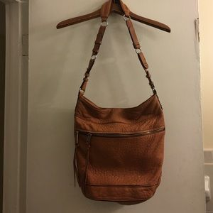Rebecca minkoff leather bucket bag