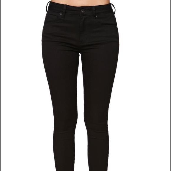 347c82c13e Plain black skinny jeans- denim