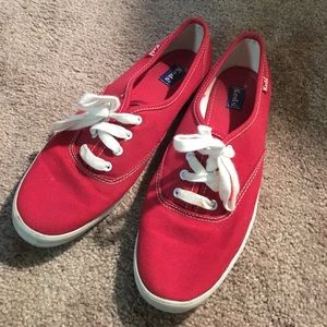 Keds red sneakers
