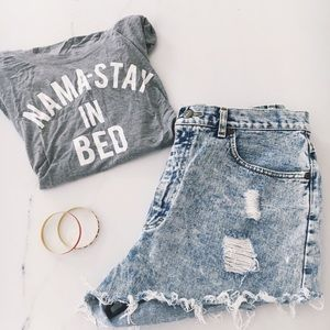 Tops - | Nama-Stay in Bed Tee |