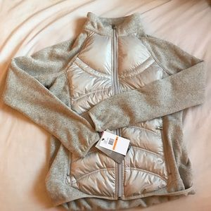 London Fog Jackets & Blazers - London Fog Silver Down Puffer Jacket NWT
