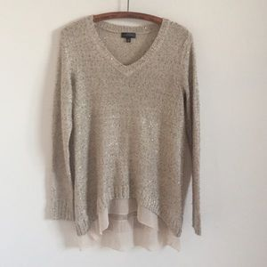 The Limited Sweaters - High low sequin sweater