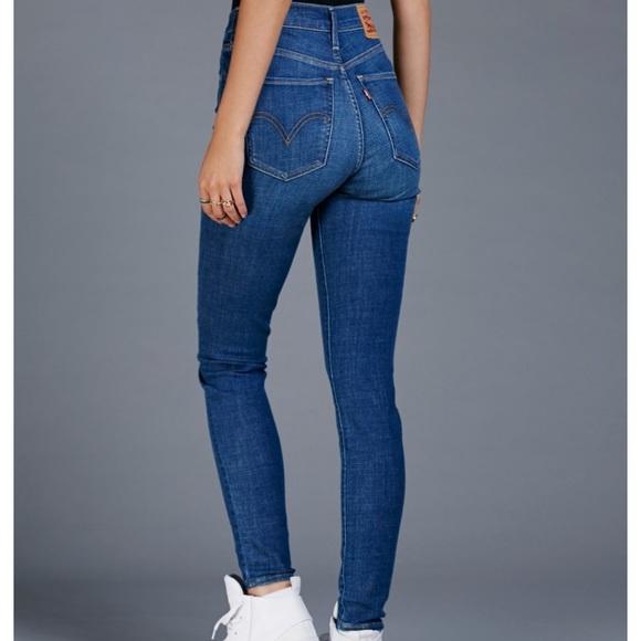 c20dbd5482c Levi s Denim - Levi s Mile High Super Skinny Jeans - Size 28