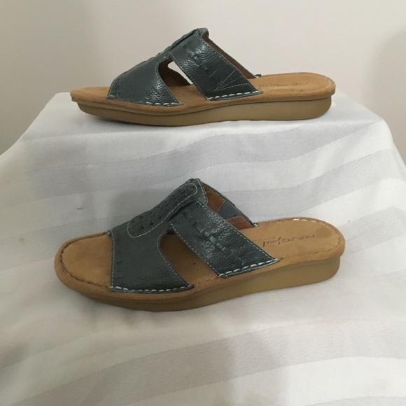 Natural Soul Sandals 65m   Poshmark