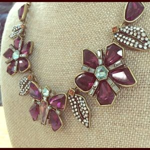 Papillon Nocturne Statement Necklace