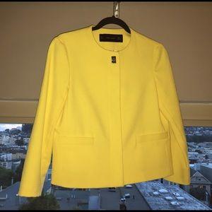 Zara Yellow Jacket/Blazer