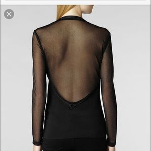 Sexy All Saints Sheer Top