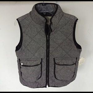 Altar'd State Jackets & Blazers - Altar'd State puffy herringbone vest