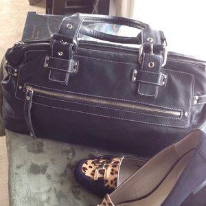 Perlina Handbags - Perlina Large Leather Satchel