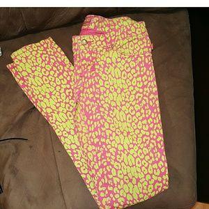 Tripp nyc Denim - Tripp  Print Skinny Jeans