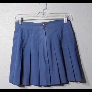 Tretorn Dresses & Skirts - Vintage blue pleated skirt