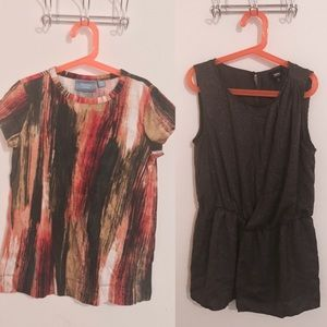 Simply Vera Vera Wang Tops - Two XS Shirts Bundle! Cute for Work!