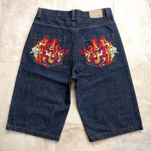 COOGI Other - Men's VTG COOGI Australia Embroidered Jean Shorts
