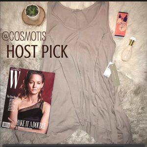 Tops - ✨HOST PICK✨BNWT Joan Voss Taupe Gray Top