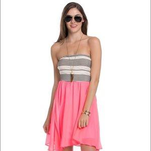 The Blossom Apparel Dresses & Skirts - Pink 🎀 chiffon tube top