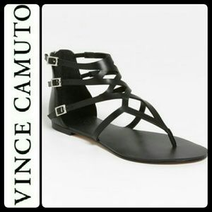 Vince Camuto Shoes - Vince Camuto Leather Gladiator Sandals