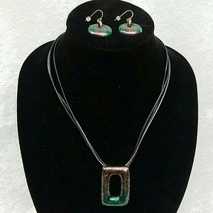 Chico's Jewelry - Unique Chico's Necklace with Earrings