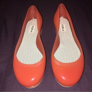 Furla Shoes - Orange Furla jelly flats
