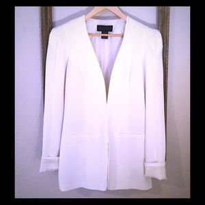 Kardashian Kollection Jackets & Blazers - Kardashian Kollection Ivory Blazer