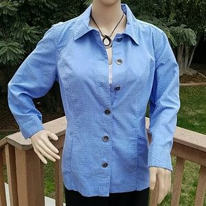 Chico's Tops - Awesome Blue Chico's Top - Chico's size 1