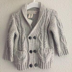 Infant Boy Grey Sweater
