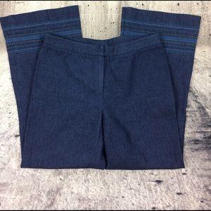 Trina Turk Denim - Trina Turk mid rise cropped jeans
