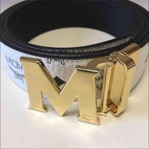 MCM Other - Authentic Mcm Men belt reversible