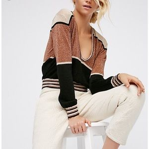 V neck Free People Sweater